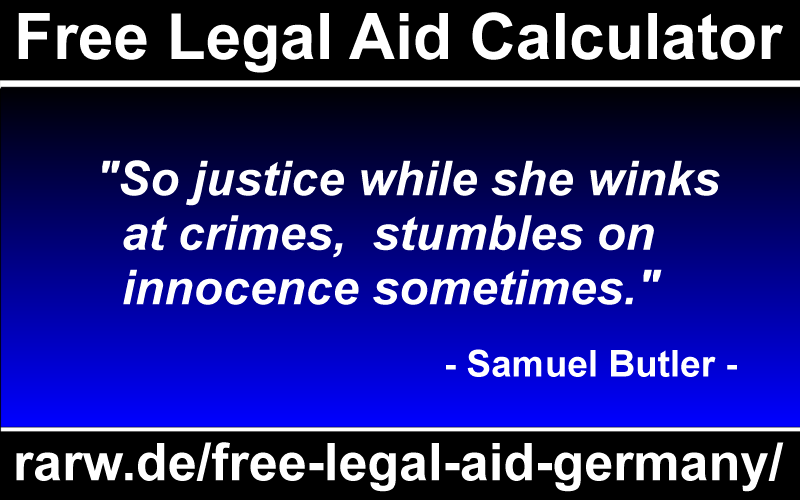 Infographic Free Legal Aid Calculator